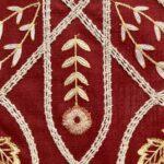 刺繡カーテン