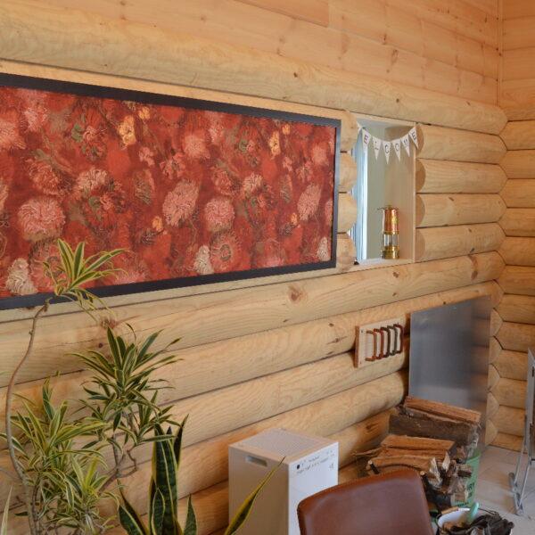 ゴッホの壁紙で作るフレームパネル