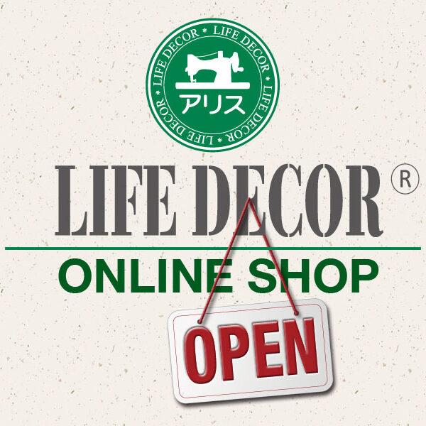 Life Decorオンラインショップのご案内