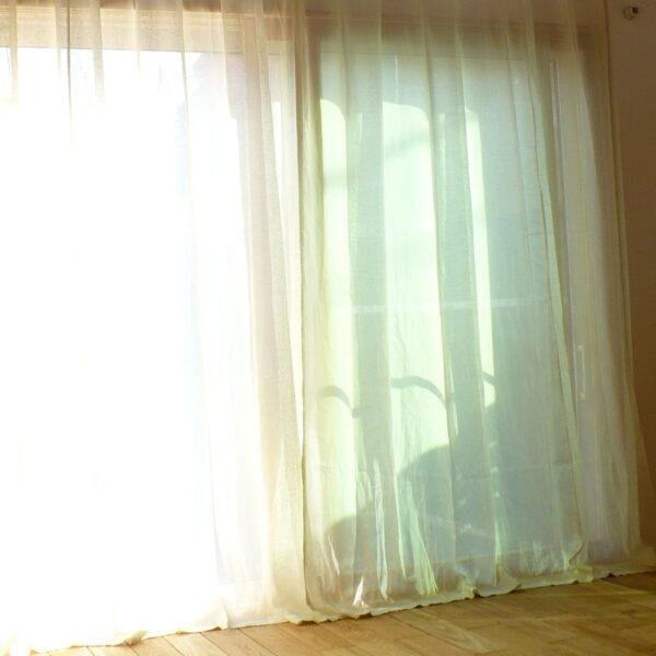 化学繊維のカーテンは使いたくないお客様
